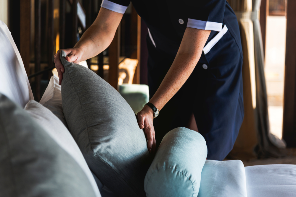 New rules may limit workplace injuries for housekeepers  Copy